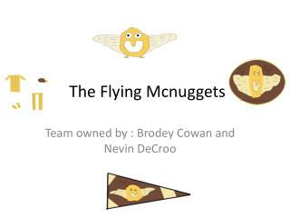 The Flying Mcnuggets