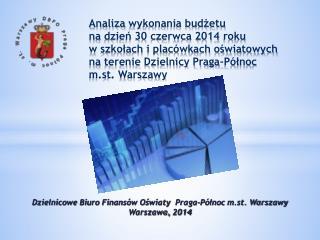 Dzielnicowe Biuro Finansów Oświaty   Praga-Północ  m.st. Warszawy Warszawa,  2014