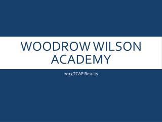 Woodrow Wilson Academy