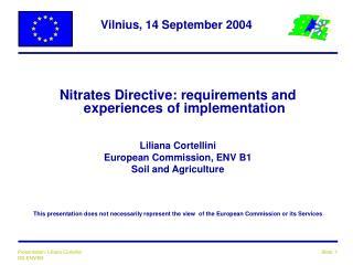 Vilnius, 14 September 2004