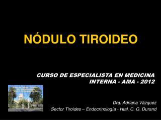 N�DULO TIROIDEO