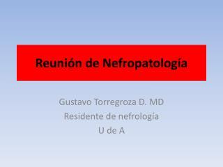 Reunión de  Nefropatología