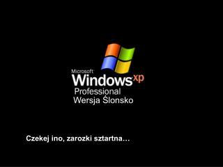 Wersja Ślonsko