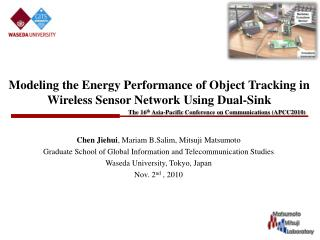 Modeling the Energy Performance of Object Tracking in Wireless Sensor Network Using Dual-Sink