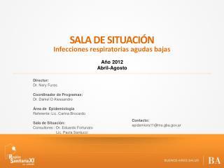SALA DE SITUACIÓN