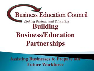 Linking Business and Education