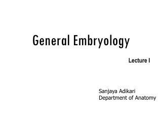 General Embryology