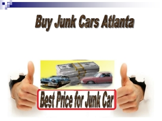 Buy Junk Cars Atlanta
