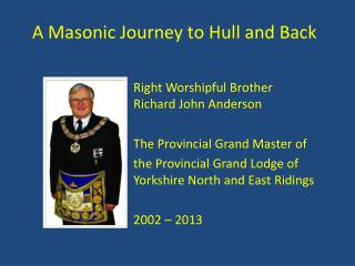 A Masonic Journey to Hull and Back