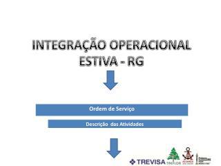 INTEGRAÇÃO OPERACIONAL ESTIVA - RG