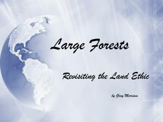 Large Forests