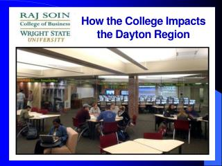 how the college impacts the dayton region
