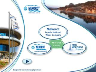 Mekorot Group   Israel's National Water Company