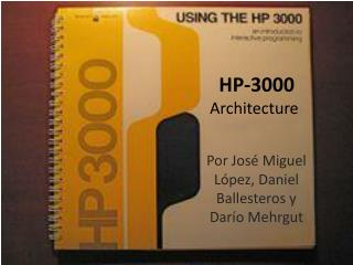 HP-3000 Architecture