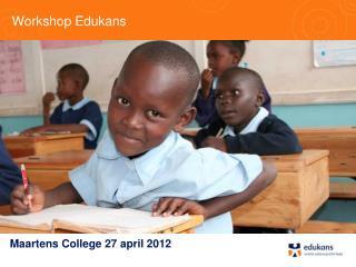 Workshop Edukans