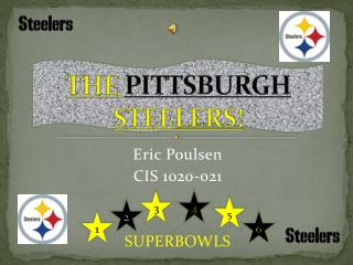 THE  PITTSBURGH  STEELERS!