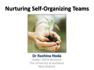 Nurturing Self-Organizing Teams