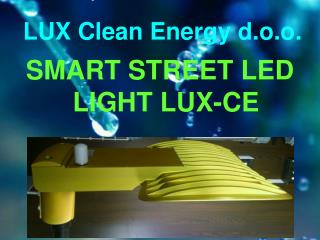 LUX Clean Energy d.o.o.
