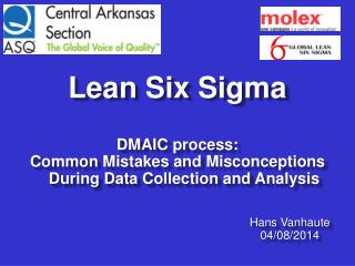 Lean Six Sigma DMAIC  process :