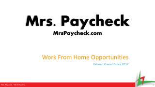 Mrs. Paycheck MrsPaycheck