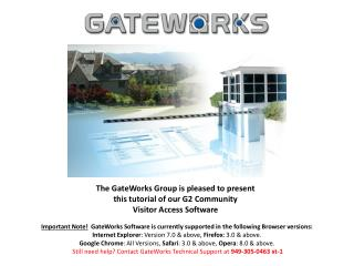 Logging In Security Setup Home Page Community Amenity Reservations Event Calendar RSVP Documents