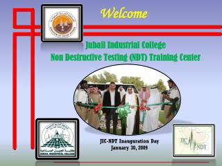 Jubail Industrial College Non Destructive Testing (NDT) Training Center