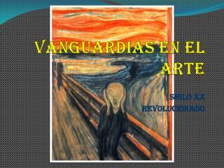 Vanguardias en el arte