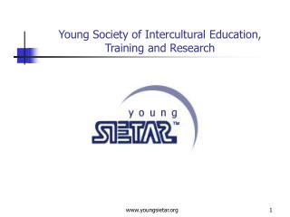 Young Society of Intercultural Education, Training and Research