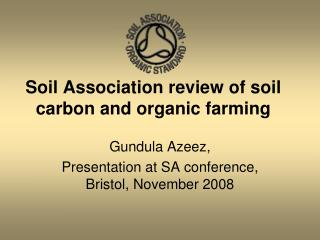 Soil Association review of soil carbon and organic farming