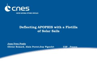 Deflecting APOPHIS with a Flotilla of Solar Sails