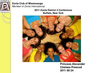 2011 Zonta District 4 Conference  Buffalo, New York