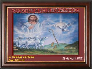 IV Domingo de Pascua  Juan 10,11-18