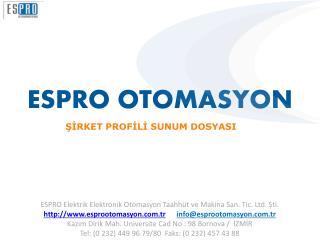 ESPRO OTOMASYON