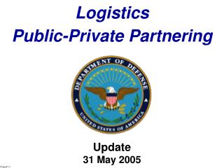 Logistics  Public-Private Partnering