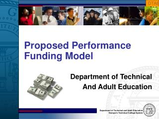 Proposed Performance  Funding Model