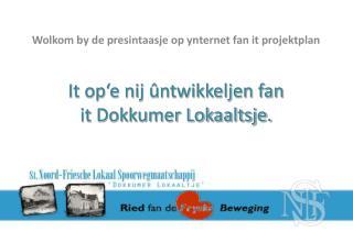 It op'e nij ûntwikkeljen fan it Dokkumer Lokaaltsje.