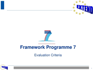 Experts and  the evaluation of proposals  in FP7