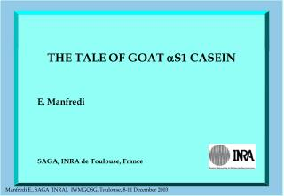 THE TALE OF GOAT  S1 CASEIN
