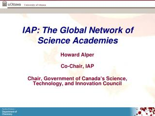 IAP: The Global Network of Science Academies