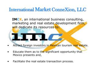International  Market  ConneXion, LLC