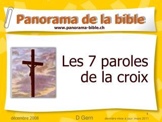 Les 7 paroles de la croix