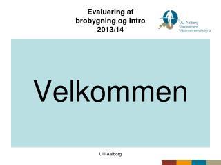 Evaluering af brobygning og intro 2013/14