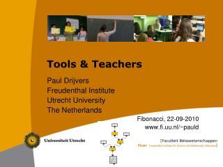 Tools & Teachers