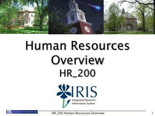 HR_200 Human Resources Overview