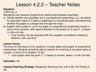 Chapter 7 Proportional Reasoning