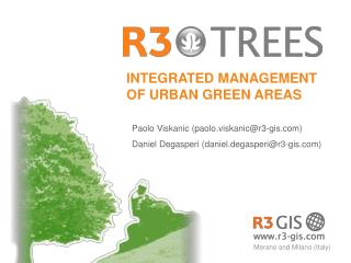 INTEGRATED MANAGEMENT OF URBAN GREEN AREAS
