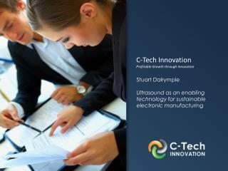 C-Tech Innovation  Profitable Growth through Innovation
