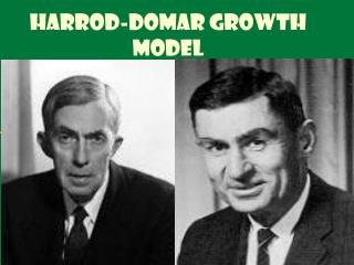 Harrod-Domar Growth Model