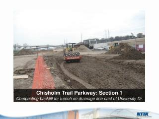 Chisholm Trail Parkway: Section  1