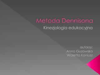 Metoda Dennisona